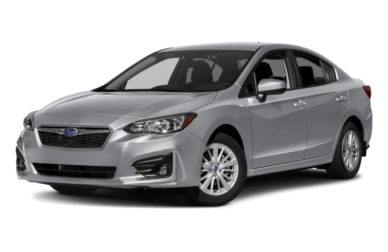 A gray Subaru Impreza